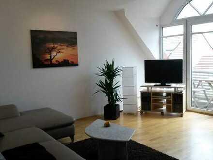 Neuwertige 2,5-Zimmer-Maisonette-Wohnung mit Balkon und EBK in Speyer