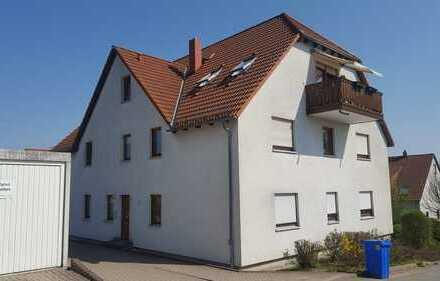 Blick vom Sonnenbalkon über Hohenstein-Ernstthal, ETW mit Garage