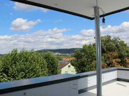 **Penthouse** mit wunderbarer Aussicht - Über den Dächern von Gelnhausen-Hailer