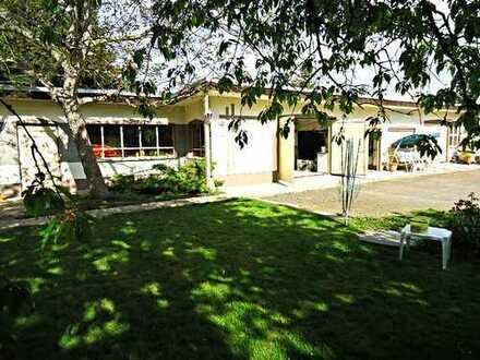 Platz für Familie & Arbeit & Hobby auf 1800m² Grd. mit Garagen +Obstgarten +sonniges Grdst.