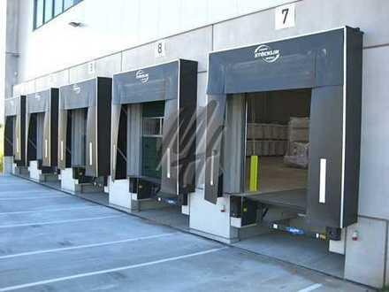RAMPE + EBEN ✓ NÄHE BAB ✓ Moderne Lager-/Logistikflächen (50.000 m²/teilbar) zu vermieten