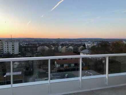 *Schicke Penthouse-Wohnung* große Terrasse + Weitblick, top modern, elegante 3ZKBT