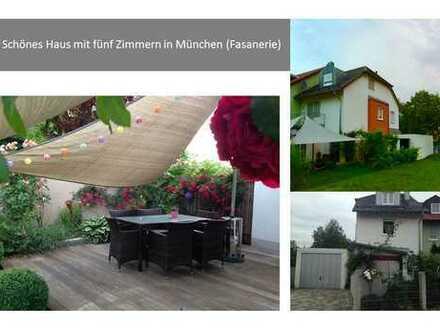 Schönes Haus mit fünf Zimmern in München (Fasanerie)
