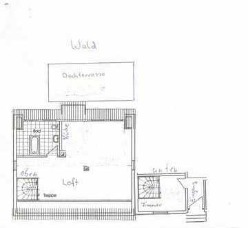 Neubau, Loftwohnung mit Penthouse Charakter