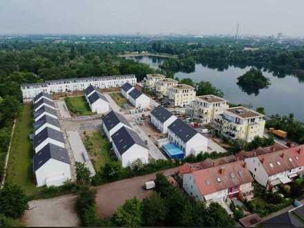 Exklusives Wohnen am See, neuwertige 4-Zimmer-Wohnung mit großem Garten und Terrasse