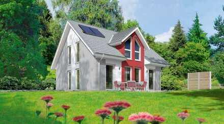 Bezauberndes Einfamilienhaus mit schönem Garten und freiem Blick !