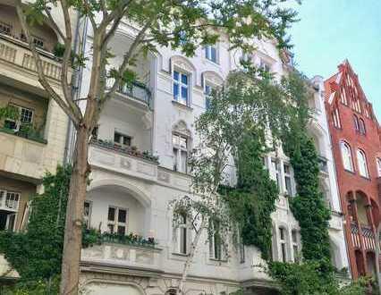 Unglaublich schöner Jugendstil-Altbau in Top-Lage. Zwei-Zimmer ETW im Gartenhaus. Investment, verm.