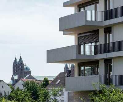 Wohnraum für die ganze Familie: moderne 4-Zimmer-Wohnung mit Terrasse und Garten