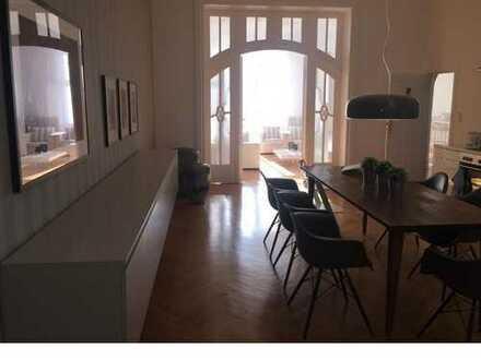 Elegante 5-Zi. Jugendstil-Altbauwohnung mit 2 Balkonen am Kurfürstendamm