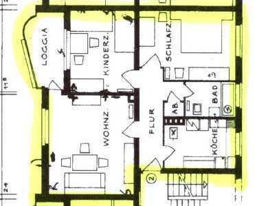 Schöne, geräumige drei Zimmer Wohnung in Hannover, Nordstadt