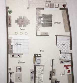 1.150 €, 95 m², 4 Zimmer