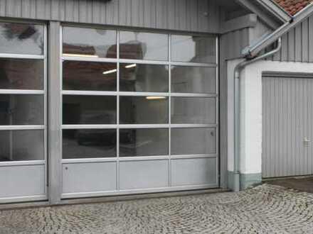 Halle-Werkstatt-Lagerhalle mit Büroraum in Kempten