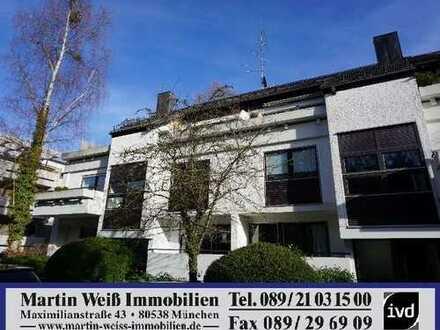 3-4-Zimmer-Split-Level-Wohnung in Harlaching Nähe Menterschwaige