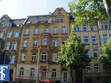 Schöne 2-Zimmer-ETW im Dachgeschoss in Plauen (Seehaus / Westend)