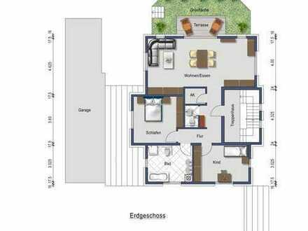 Großzügige Neubauwohnung aus 2015 mit 3 Zimmern, Garage und Terrasse in Waldbronn