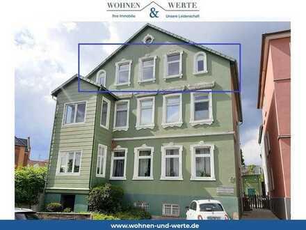 Kernsanierte Altbau-Dachgeschosswohnung im Herzen Bückeburgs mit Gartennutzung