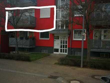 Gepflegte 3-Zimmer-Wohnung Erbpacht mit Balkon und Einbauküche Tiefgarage in Karlsruhe Oberreut