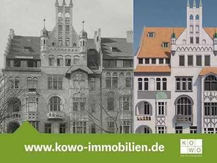 Außergewöhnliche 4-Zimmer-Wohnung im historistischen Denkmal im Stadtzentrum Halle - mit Denkmal AfA