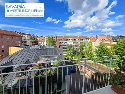 Rarität Nähe Gärtnerplatz - 3 Zimmer, Aufzug, Balkon!