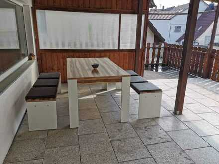 Zuhause ankommen - 3 Zimmerwohnung in Schwenningen, mit großer Terrasse, für 6 Monate zu vermieten!
