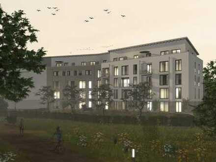 Großzügige Wohnung am Park mit Dachterrasse, 3½ Zi, KB, Erstbezug