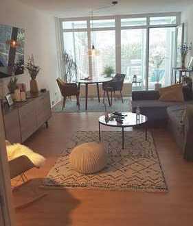 Renovierte und möblierte EG-Wohnung mit Garten und EBK am Treptow (28.02.2020 -23.05.2020)