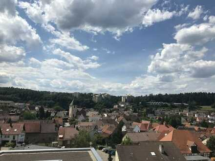 Erstbezug: Moderne 4,5-Zimmerwohnung (DG) mit herrlicher Aussicht in Eisingen
