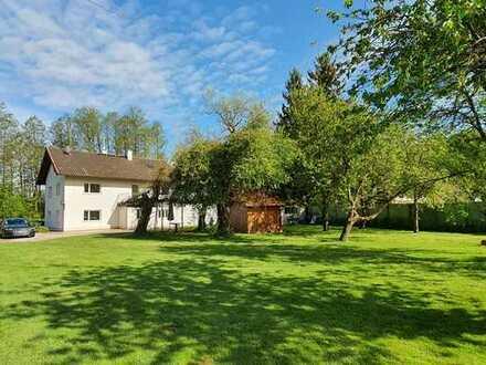 ...Einmalig! Großes Wohnhaus mit Garten in idyllischer Lage nahe Mühldorf...
