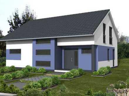 *Klare Linien mit einem interessanten Grundriss*KfW 55 Haus!!