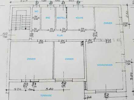 4-Zimmer-Wohnung mit Terrasse und EBK in Aresing