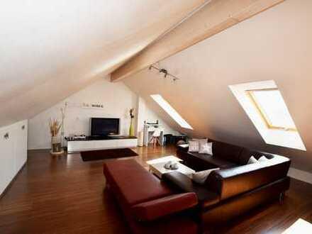 Moderne Maisonette - Wohnung, bestens geeignet für ein Paar!
