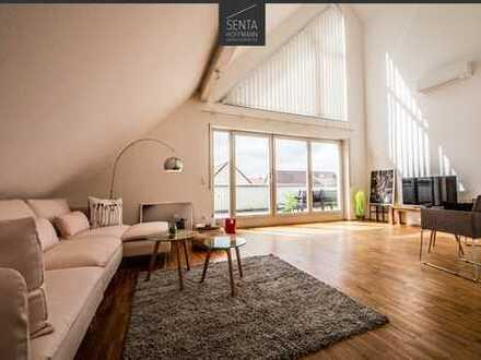 Wunderschöne Maisonettewohnung im Penthouse-Stil in Korntal-Münchingen