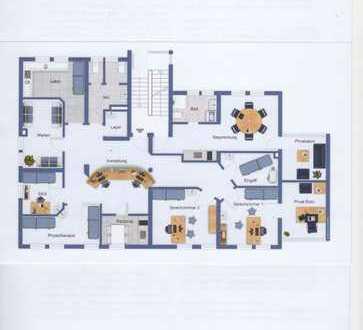 Flexible BÜRO- oder PRAXISRÄUME mit angeschlossenem 2-Zimmer-Appartement