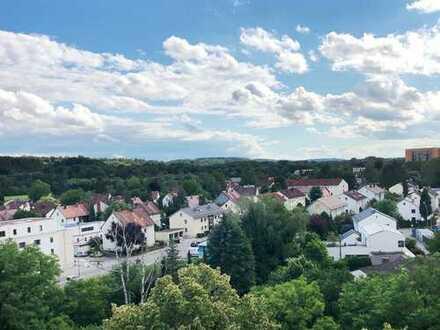 2-Zimmer-Wohnung mit zwei Balkonen in Landshut-West