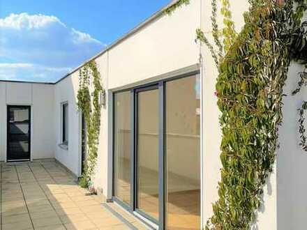 4-Zi.-Penthouse mit spektakulärer 226m2 Dachterrasse / Dachgarten und Weitblick in zentraler Lage