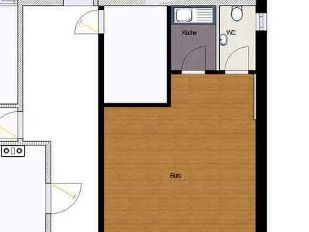 Bürofläche mit großem Fenster, Küche , WC / Weitere Büroflächen 20 bis 120 m2