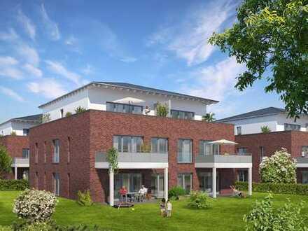 Erstbezug: exklusive 2-Zimmer-Penthouse-Wohnung mit großzügiger Dachterrasse in Korschenbroich