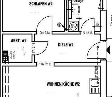✨ Erstbezug - 2-ZKB (52qm) große Terrasse m. Gartenanteil✨
