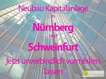 Neubau-Kapitalanlage in Nürnberg und Schweinfurt - Vermietgarantie + Rundum-Sorglos Paket