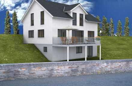 **freistehendes Einfamilienhaus mit Blick auf den Ebersberg**