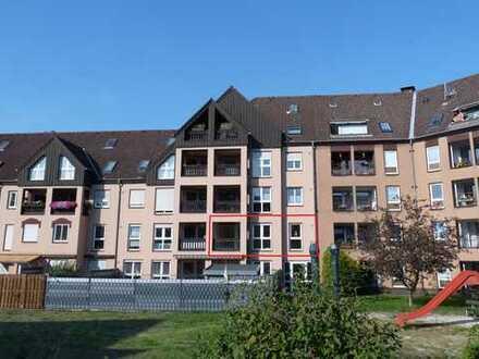 gepflegte 3,5-Zimmer-Wohnung mit Loggia und Garage in Marl-Mitte