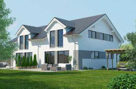 **VERKAUFT**DHH ca 130 m², Grund 660 m², Niedrigenergie Massivhaus, ruhig aber verkehrsgünstig