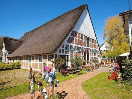Toller Gutshof an der Elbe: Mehrfamilien-Wohnprojekt, Boutiquehotel/Café, Pferdehof