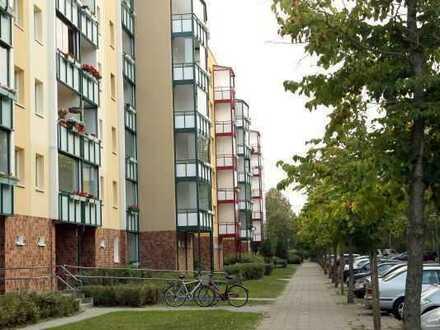 Verglaste Westloggia! 1-Zimmer-Wohnung in Rostock-Lichtenhagen