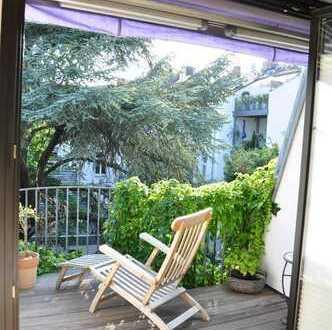 Helle, offene 3-Zi-Wohnung in der Südstadt mit 2 Balkons