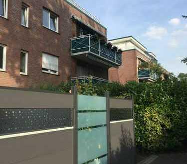 Gepflegte 4-Zimmer-Wohnung mit Balkon und Einbauküche in Rheinberg
