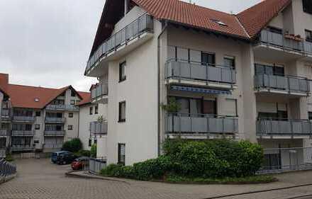 Freundliche 2-Zimmer-Wohnung mit Balkon in Grünstadt; Südlage