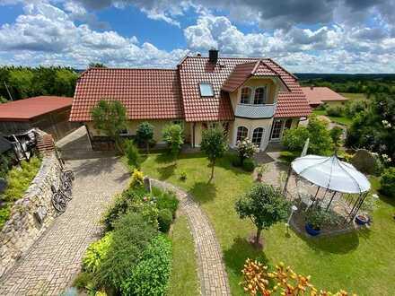 Modernes Einfamilienhaus mit Traumgarten bei Bad Brückenau