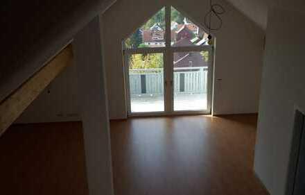 Erstbezug: schöne 1-Zimmer-DG-Wohnung mit Balkon in Kaufering