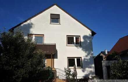 Freistehendes 2-3 Fam.-Haus in MA-Blumenau mit idyllischem Garten